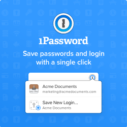 1Password Security Software