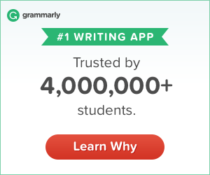 Grammarly is the number one writing app!