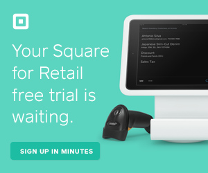 Square Free Trial - Retail and Ecommerece
